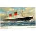 "Cunard RMS""Queen Elizabeth""  st New York  B 1668"