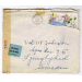 st Lake Forest 1944 med brev to Sweden air mail