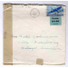 st lake Forest 1945 air mail med brev to Sweden