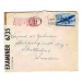 st Chicago 1943 air mail 6735 med brev