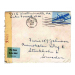 st Lake Forest 1944 Air mail 53021