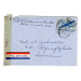 st Chicago 1944 /Air mail 53021 to Sweden med brev