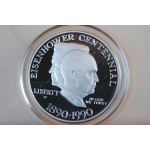 One dollar Eisenhower 1890-1990