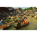 No 369 Dhornburi Thailand Scenery of the floating market
